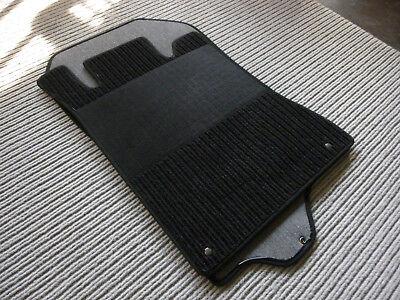 $$ Rips Fußmatten passend für Mercedes Benz R129 W129 SL + Druckknöpfe + schwarz