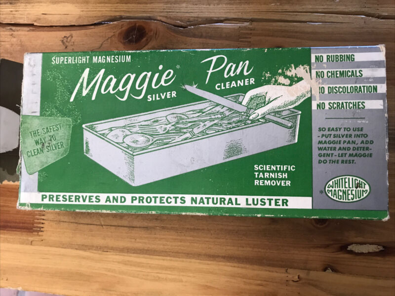 Maggie Pan Silver Cleaner Whitelight Magnesium