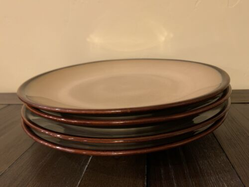Sango Nova Brown 11 Dinner Plates - Set Of 4 Used Condition  - $20.50