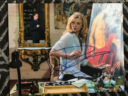Elementary Natalie Dormer Autographed Signed 11x14 Photo COA #3