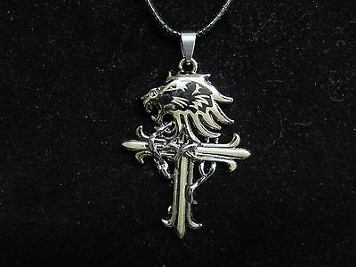 Final fantasy necklaceebay 1 final fantasy 8 viii griever necklace pendant mozeypictures Choice Image