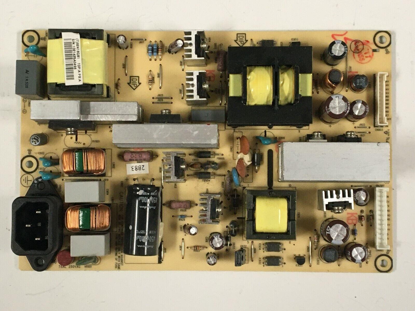 Insignia NS-L322Q-10A Power Supply 92418QB1 Pulled from a FULLY functional TV!