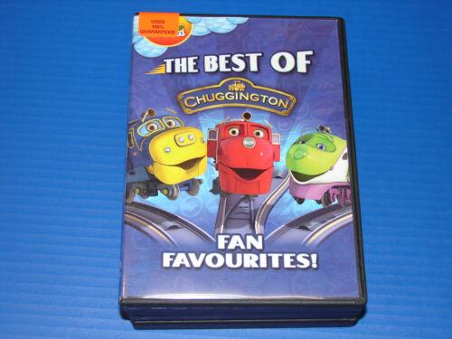 Best Of Chuggington (dvd, 2012)   ***very Nice***