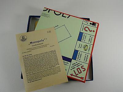 Schmidt Spiele altes Monopoly Spiel Nr. 102/2 von 1964