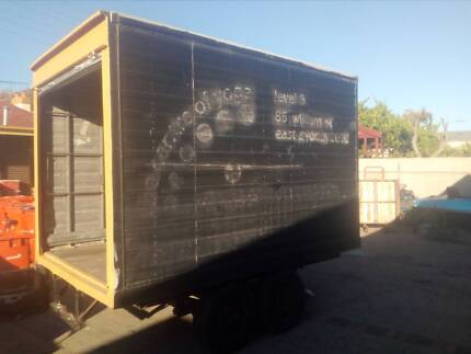 pantech truck body box truck back pantec garden shed on trailer Adelaide CBD Adelaide City Preview