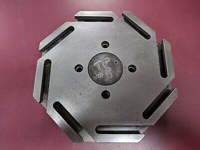 Hardinge Chnc Ii Lathe 8-station Turret Top Plate 38 Tooling - Cnc Hnc