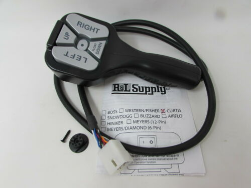 NEW 9 PIN PLUG CURTIS STRAIGHT BLADE SNOW PLOW CONTROLLER 1HHC SNO PRO 3000