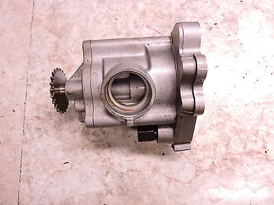 12 Polaris Victory 106 Vision Touring engine oil pump