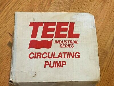 New Teel Circulating Pump 2p079b 120v 2-speed Bronze Water System Pump