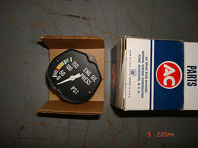 Hughes Oh6a Helicopter Oil Pressure Guage 6461245
