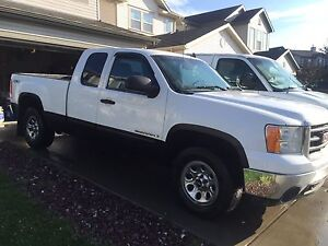 2008 GMC SIERRA 1500 SLE EXTENDED CAB 4WD 5.3L