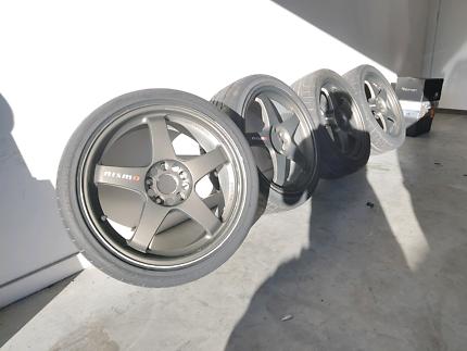 "18"" genuine nismo lmgt4 wheels"