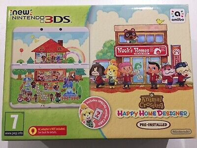 Brand New - New Nintendo 3DS Console - Animal Crossing Edition +...