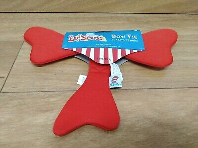 Dr Seuss Bow Tie Costume Accessory