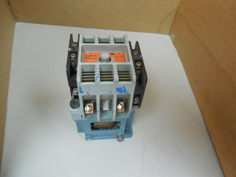 ASEA DRIVE CONTACTOR EFLG 30-2P EFLG302P 302AM20P SK 415 016-F 110-120V COIL