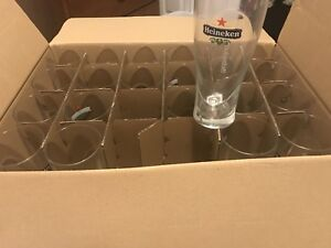22 Heineken glasses