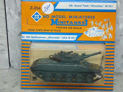 Roco Minitanks (New) Modern US M-551 Sheridan Scout Light Tank Lot #2379 for sale  Chicago