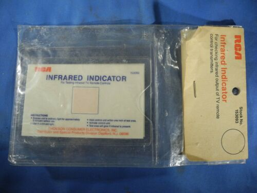 RCA / Thompson Infrared Detection Card/Sensor Card 153093 NOS Vintage