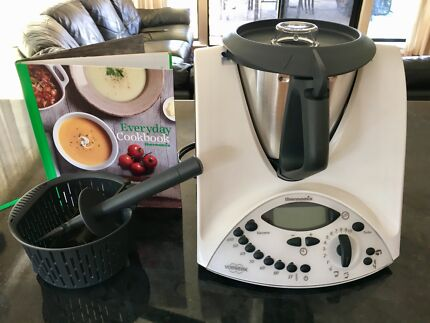 Thermomix TM31 with accessories and cookbook