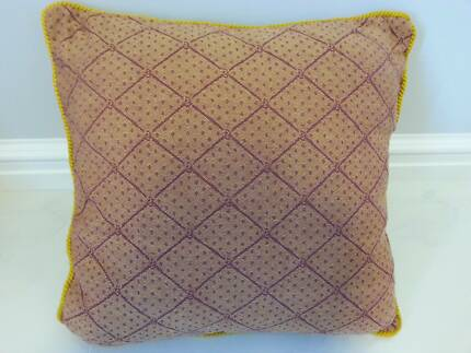 2 x Trellis Style Cushion Covers with Inserts Bayswater Bayswater Area Preview