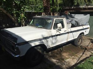 F100 1976 F250 LWB Project Truck Waitara Hornsby Area Preview