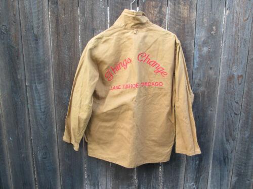 THINGS CHANGE Vintage Lake Tahoe DAVID MAMET Crime Film Crew Jacket RICKY JAY