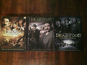 Deadwood series 1-3 DVD's