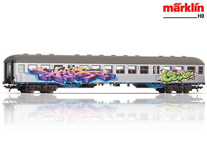 märklin 43805 Nahverkehrswagen Silberling 2. Klasse der DB ++ NEU & OVP ++