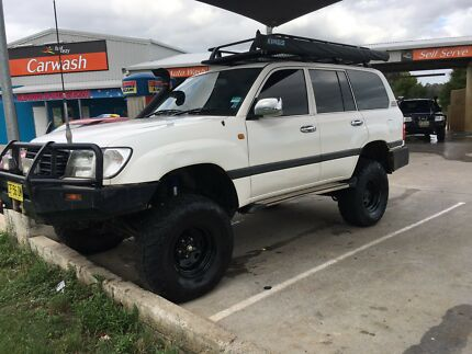 2001 Toyota landcruiser GXL HZJ105r $22,500 Ono