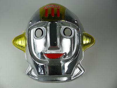 vintage Captain Future Capitaine Flam Grag Robot Mask - Toei Animation Japan