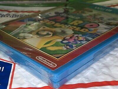 Brand New Factory Sealed Nintendo Wii U Game Super Mario 3D World