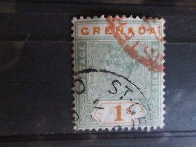 Grenada 1895 1s definitive Fine Used .
