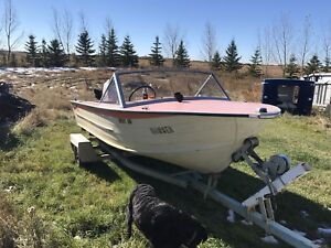 1975 Starcraft 15.5' with a 55hp Johnston