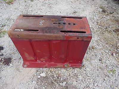 Farmall 460 560 Tractor Original Ih Tool Box Seat Frame Base Mount