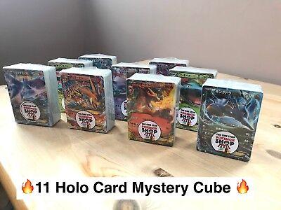 Pokemon Japanese Mystery Cube - 100 Card Lot Gift Holos, FA, Rare, Ex Charizard
