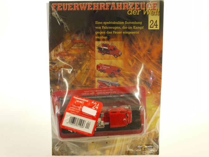 Fire Engines Of World 24 American Lafrance 700 1950 1:64 Boxed 1409-20-07