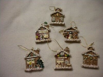 CHRISTMAS GINGERBREAD HOUSE - Gingerbread Ornaments