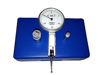 New  030 03 Precision White Dial Test Indicator 0 15 0 0005 Graduation