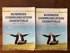 Business Communication Essentials (Fourth Canadian Edition)