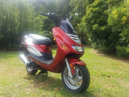 TGB 125 Scooter with RWC