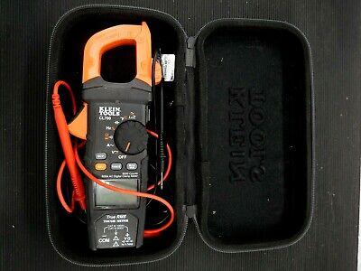 Klein Tool Cl700 600 Amp Ac True Rms Auto-ranging Digital Clamp Meter