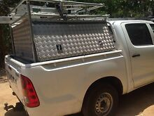 canopy, tool box, ute, checker plate, tools, hilux Mount Helena Mundaring Area Preview