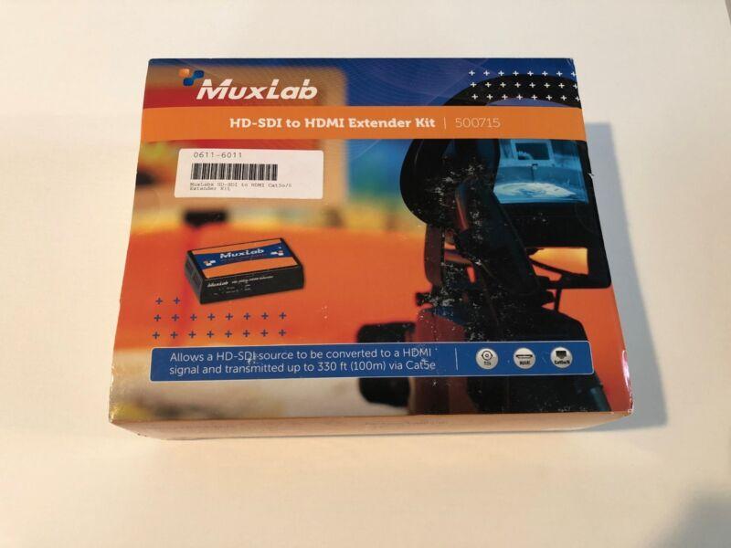 MuxLab HD-SDI to HDMI Extender Kit Model 500715