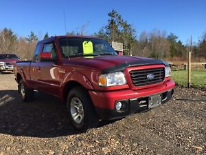 2008 Ford Ranger Sport VERY LOW KM! NEW MVI
