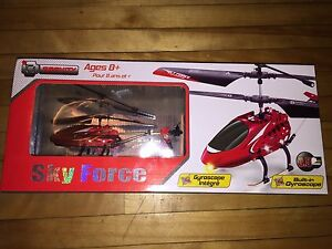 4x remote controlled helicopters