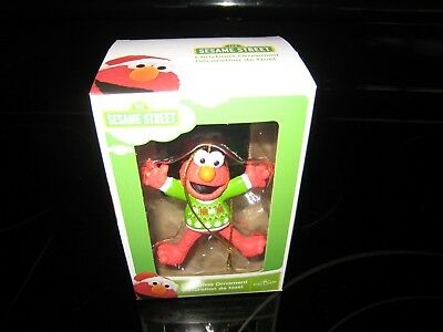 KURT S. ADLER SESAME STREET ELMO CHRISTMAS TREE ORNAMENT NEW/FREE SHIPPING!!!](Elmo Christmas Ornament)