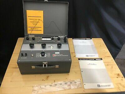 Leeds Northrup Millivolt Potentiometer Cat. No. 8686 Vintage Test Equipment