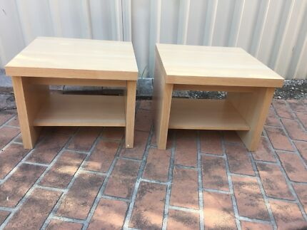 Nearly new beside table (pairs )