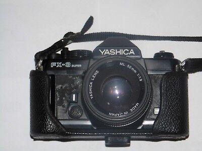 YASHICA  FX 3 super  Spiegelref. analoge KBK
