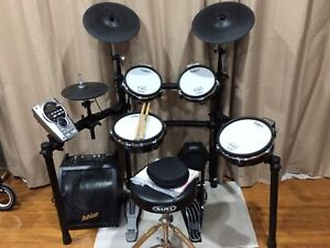 Roland TD-15. With TD-30 pads plus many extras
